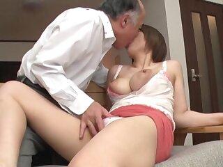 Old man fucks shove around Japanese chick in crazy XXX scenes